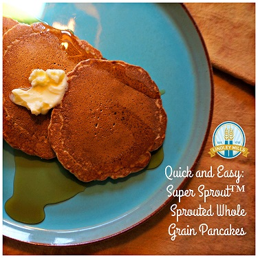 Sprouted Pancakes Back to School