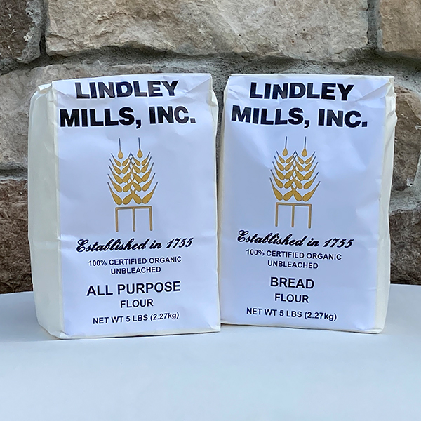 Lindley Mills All Purpose and Bread Flour