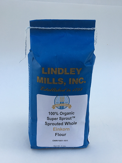 100% Organic Super Sprout™ Sprouted Whole Grain EINKORN Flour (OUT OF STOCK RETURNING 2021)