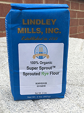 100% Organic Super Sprout™ Sprouted Whole Grain RYE Flour